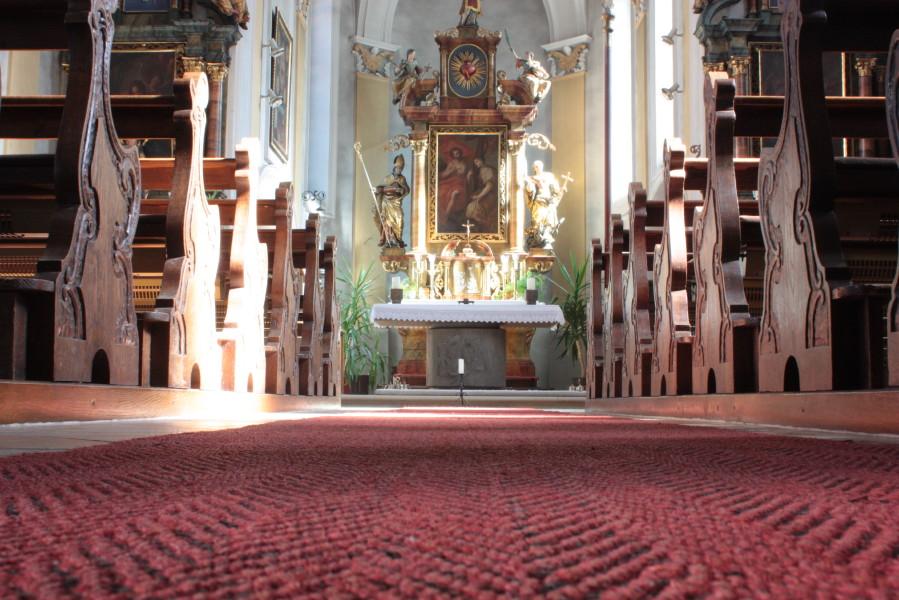 Foto Kath. Kirche Mühlhausen